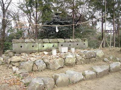 吉備の中山・八大竜王の祠