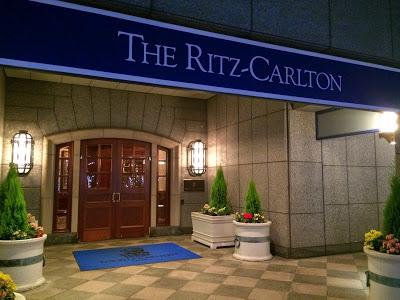 ザ・リッツ・カールトン大阪に泊まる