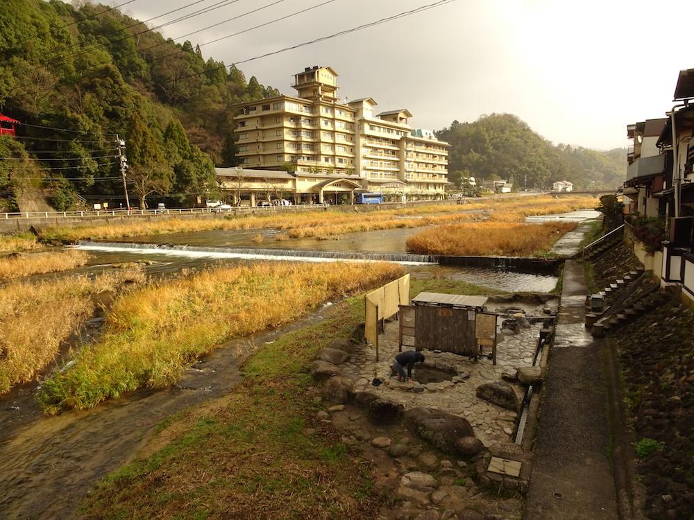 鳥取・三朝温泉
